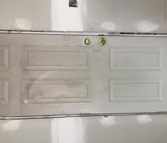 Fire Damage Repaired to a Door in St. Joseph, MO After